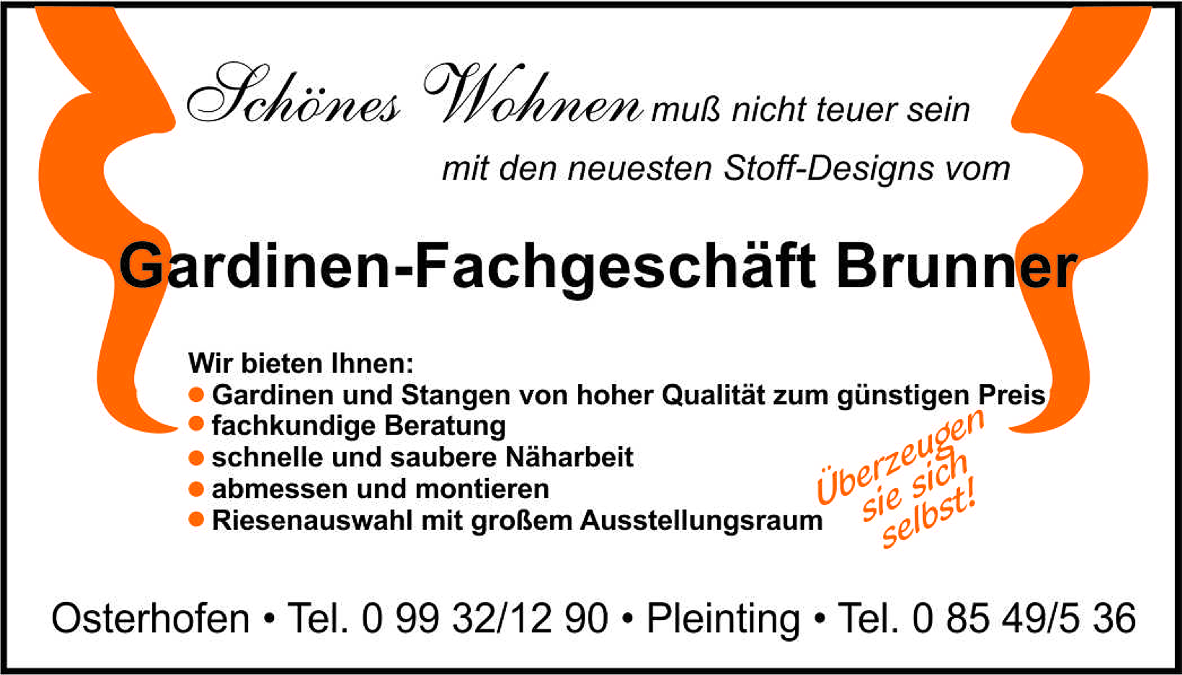 Gardinen Brunner | BusinessGUIDE