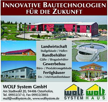 Wolf System-Haus | Branchen Stadtplan