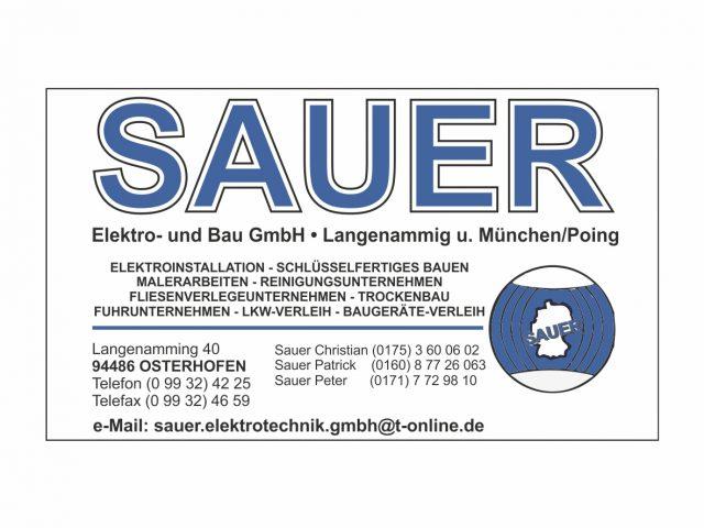 Sauer Elektro- und Bau GmbH